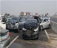 إصابة٤أشخاص في انقلاب سيارة ملاكي برشيد