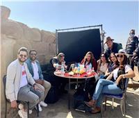 سوزان نجم الدين تشارك جمهورها بصور من كواليس فيلم «تماسيح النيل»