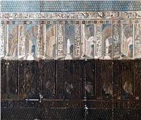 صورة تحكي قصة ترميم معبد دندرة في قنا