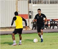 حازم إمام ينتظم في تدريب الزمالك