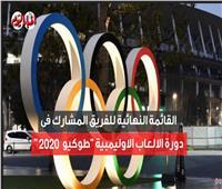 فيديوجراف | قائمة منتخب «الفراعنة» في أولمبياد طوكيو