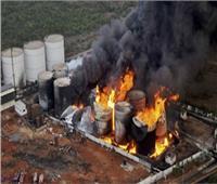 إصابة 5 عمال في حريق اندلع بمصنع كيماويات بالهند
