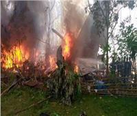 مصرع 17 شخصا في حادث تحطم طائرة عسكرية جنوب الفلبين