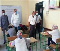158 طالبا وطالبة يؤدون اختبارات أوائل الطلاب بالشهادة الإعدادية بأسوان