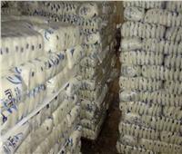 ضبط 6.2 طن أرز أبيض وسكر وعدس وزيت طعام فاسد بالجيزة