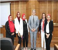 سعدة وأبو عميرة يحكمان مشروعات الدراسات العليا بإعلام القاهرة