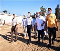 محافظ الغربية يتفقد عدداً من المشروعات التنموية بمركز طنطا