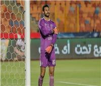 خروج محمد الشناوي من مباراة الأهلي وسموحة