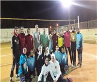 «الكرة الطائرة» بالوادي الجديد يطالب وزير الشباب والرياضة بتحقيق أحلامه