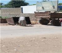 رفع 175 طن مخلفات من قرى وأحياء المنيا
