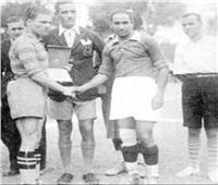 أبو الكرة المصرية.. حسين حجازي يلقن الحكم درسًا في الأولمبياد