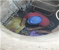 مياه المنوفية: استخدمنا معدات الحملة الميكانيكية لسرعة إنهاء عطل «بحاري»