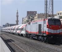 «السكة الحديد» تنفذ حملة لإزالة التعديات على شريط القطارات بـ4 محافظات