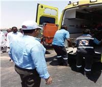 مصرع شخص وإصابة 15 آخرين فى حادث تصادم بأسوان