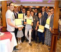«الضرائب» تحتفل بالفائزين في المسابقة الدينية| صور