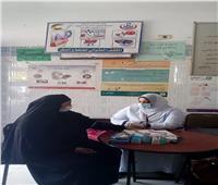 الكشف الطبي على ٩٩٨ مريض بالقافلة الطبية بقرية كفر ربيع بالمنوفية