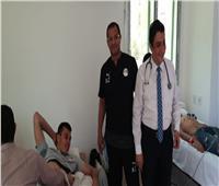 كشف طبي شامل لرباعي المنتخب الأولمبي