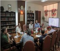 «الأهلي» يستعرض إستراتيجية العمل بقطاع الناشئين