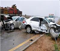 مصرع وإصابة ٤ أشخاص في حادثين بطرق الشرقية