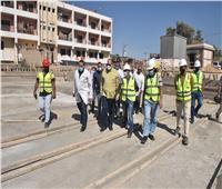 محافظ أسيوط يتفقد أعمال إنشاء مستشفى ساحل سليم النموذجي الجديد