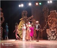 عرض مسرحية المخططين ورحلة حنظلة على مسرح مجمع الفنون والثقافة بجامعة حلوان