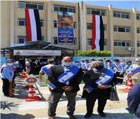 افتتاح مدرسة الشهيد النقيب فاضل الباشا بالسويس.. صور