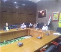 اجتماع لمناقشة كيفية مواجهة الكوارث والأزماتبشمال سيناء