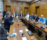 محافظ الدقهلية يستقبل أعضاء لجنة الشباب والرياضة بمجلس النواب
