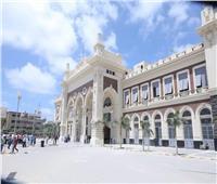 شاهد  أعمال تحديث وتطوير محطة الإسكندرية للسكك الحديدية