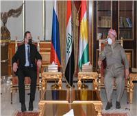 بارزاني يناقش قضايا الأمن والانتخابات مع سفيري الهند وروسيا