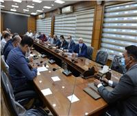 محافظ الدقهلية يرأساجتماع اللجنة العليا للاستثمار