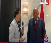 وزير الخارجية عن سد النهضة: لقائي بوفدي روسيا والصين بمجلس الأمن كان مثمرا