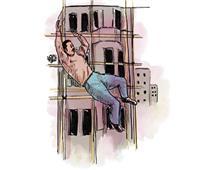 على باب الوزير | «رضا» سقط أرضاً