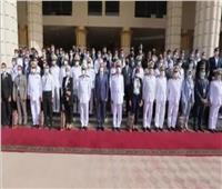 «أكاديمية الشرطة» تستقبل 155 طالبًا وطالبة يمثلون كليات الحقوق والقانون  فيديو