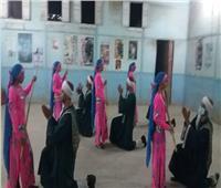 «ثقافة المنيا» تقدم عرضا فنيا وتبلوهات تحاكي التراث الشعبي بملوى
