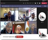 عبدالغفار يتلقى تقريرًا حول اجتماع مسئولي وزارتي التعليم العالي والبحث العلمي المصرية والعراقية