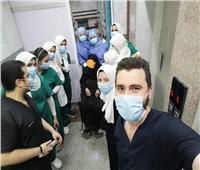 إنجاز جديد بسوهاج.. خروج آخر مصابي كورونا بهذا المستشفى
