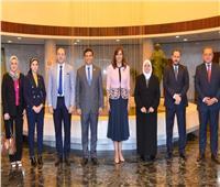 وزيرة الهجرة تلتقي ممثلي «التعليم» و«التضامن» لدعم مبادرة مراكب النجاة