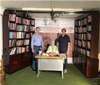 أنشطة كلية التربية الفنية جامعة حلوان في معرض للكتاب