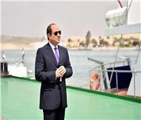 رئيس قناة السويس يوجه الشكر للرئيس على دعمه إنهاء أزمة «إيفر جيفن»
