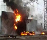 إخماد حريق محول كهرباء في حدائق الأهرام