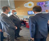 وزير النقل يتفقد مركز التحكم والمراقبة الخاص بالخط الأول لمترو باريس