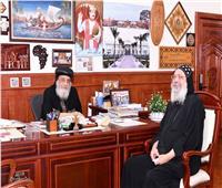 البابا تواضروس يستقبل القمص يوحنا الأنطوني لبحث أوضاع الكنيسة بجورجيا