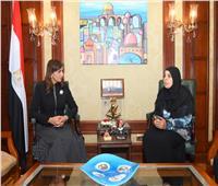 نبيلة مكرم: وزارة الهجرة لا تدخر جهدا لخدمة المواطنين المصريين بالخارج