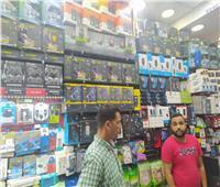 ضبط أحبار وأدوات كمبيوتر مجهولة المصدر شرق الإسكندرية