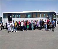 جامعة السادات تنظم زيارات لطلابها لمعرض الكتاب