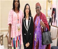 مايا مرسي تلتقي نظرائها في غينيا والنيجير