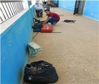 وزير التعليم ينشر صورا لتجهيز كاميرات المراقبة بلجان الثانوية العامة