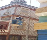 رئيس مدينة سمالوط يوجه بإنارة الأماكن التى طالب بها الأهالى