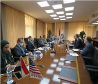 وزير المالية للسفير الأمريكي: حريصون على تطوير أنظمتنا الضريبية والجمركية